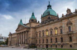 Gerichtsgebäude in Leipzig