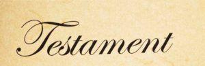 Das Wort Testament