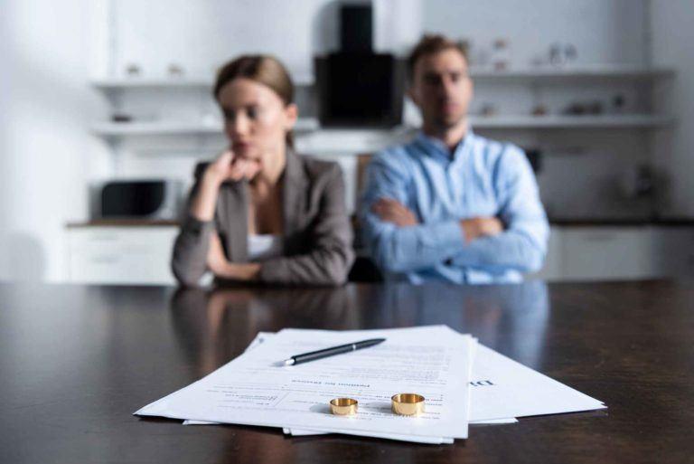 Weg nach der Scheidung