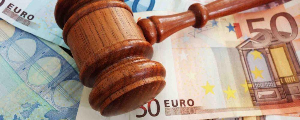 Richterhammer Euronoten